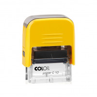 Colop Printer C10 Compact Transparent. Цвет корпуса: карри